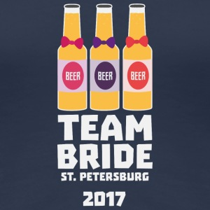 Team Bride St. Petersburg 2017 Suv92 T-Shirts - Women's Premium T-Shirt