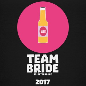 Team bride St. Petersburg 2017 Henparty Si9ps Shirts - Teenage Premium T-Shirt