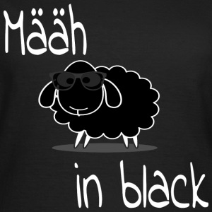 määh in black T-Shirts - Frauen T-Shirt
