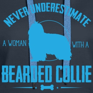 Dog Bearded Collie NUW Hoodies & Sweatshirts - Women's Premium Hoodie