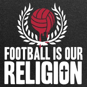 FOOTBALL IS RELIGION Caps & Hats - Jersey Beanie