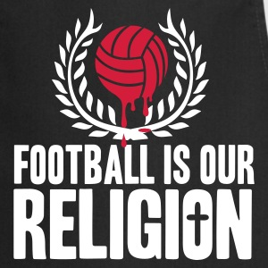 FOOTBALL IS RELIGION  Aprons - Cooking Apron