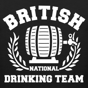 BRITISH DRINKING TEAM Sports wear - Men's Premium Tank Top