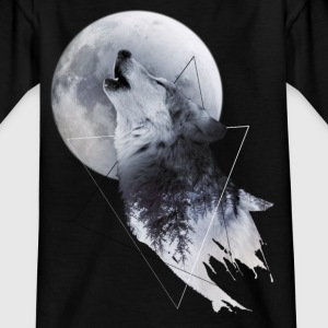 Howl with the Wolf Kinder T-Shirt - Kinder T-Shirt