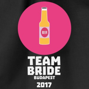 Team bride Budapest 2017 Henparty Sk9l5 Bags & Backpacks - Drawstring Bag