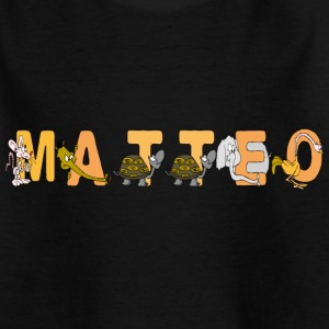 Matteo T-Shirts - Teenager T-Shirt