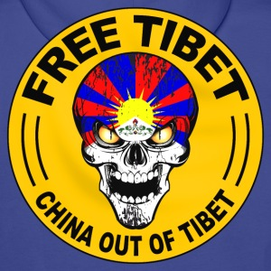Free Tibet Sweat-shirts - Sweat-shirt à capuche Premium pour hommes