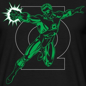 DC Comics Originals Green Lantern Logo - T-skjorte for menn