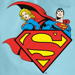 DC Comics Originals Supergirl Und Superman - Turnbeutel