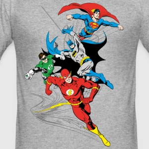 DC Comics Originals  Gruppe - Männer Slim Fit T-Shirt