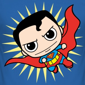 DC Comics Originals Superman Clark Kent Chibi - Männer Slim Fit T-Shirt
