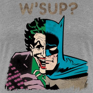 DC Comics Originals Batman Joker Mashup - T-shirt Premium Femme