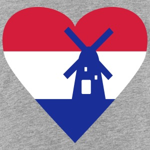 Netherlands Holland Heart Shirts - Kids' Premium T-Shirt