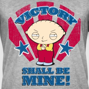 Family Guy Stewie Victory - Mannen Vintage T-shirt