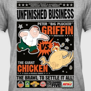Les Griffin Family Guy Peter Contre Poule - T-shirt vintage Homme