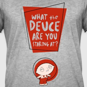 Family Guy Stewie What The Deuce - Männer Vintage T-Shirt