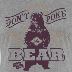 Bear Poke Animal Planet - Women's Premium T-Shirt
