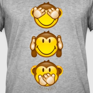 SmileyWorld Three Mystic Apes - Herre vintage T-shirt