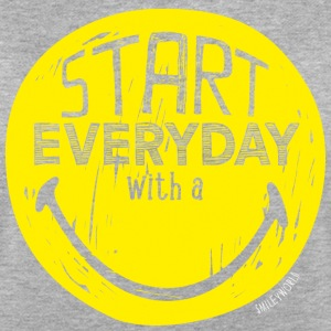SmileyWorld Start Every Day With A Smile - T-shirt oversize Femme