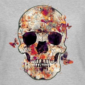 skull-and-butterfly Tee shirts - T-shirt Femme