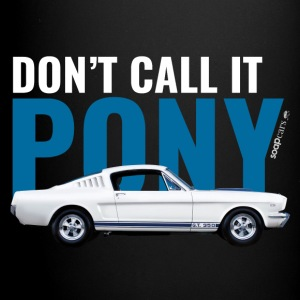 Don't call it pony* - Tasse en couleur