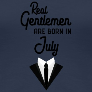 Real Gentlemen are born in July Spwty T-Shirts - Women's Premium T-Shirt