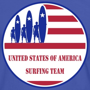 USA Surfing Team Tee shirts - T-shirt contraste Homme