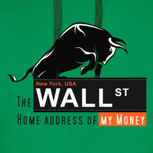 Home of my Money - Wall Street Pullover & Hoodies - Männer Premium Hoodie