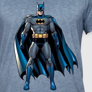 DC Comics Batman Pose - T-shirt vintage Homme