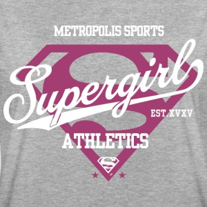 DC Comics Supergirl Logo Athletics - Frauen Oversize T-Shirt