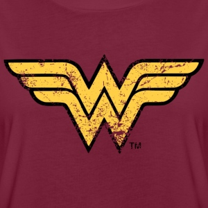 DC Comics Justice League Wonder Woman Logo - Frauen Oversize T-Shirt