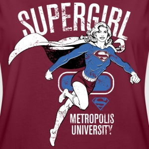 DC Comics Supergirl Metropolis University - Frauen Oversize T-Shirt