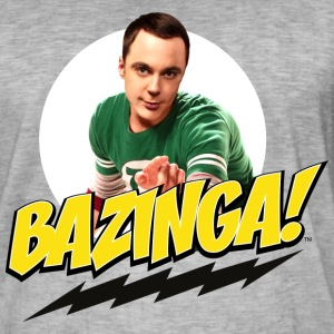 The Big Bang Theory  Spruch  - Männer Vintage T-Shirt