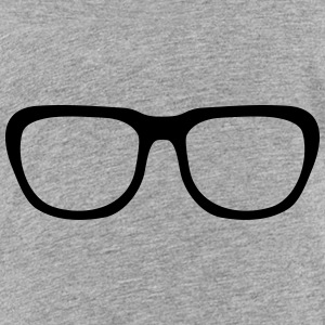 Nerd glasses, Geek (cheap!) T-shirts - Teenager premium T-shirt