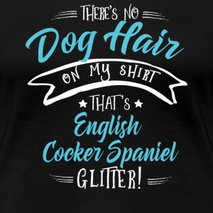 Dog Cocker Glitter T-Shirts - Women's Premium T-Shirt
