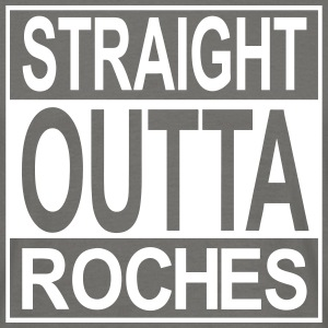 Straight outta Roches - Männer T-Shirt