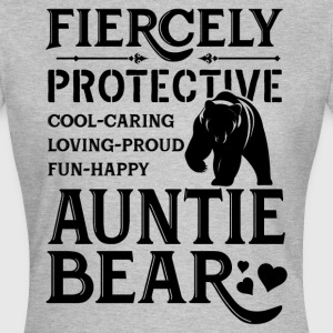 Fiercely Protective Auntie Bear T-Shirts - Women's T-Shirt