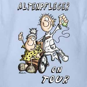 Altenpfleger on Tour Baby Bodys - Baby Bio-Kurzarm-Body