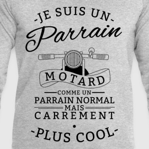 Parrain motard carrement plus cool Sweat-shirts - Sweat-shirt Homme Stanley & Stella
