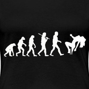 Evolution Poledance T-Shirts - Frauen Premium T-Shirt