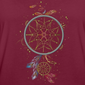 Dreamcatcher - Traumfänger T-Shirts - Frauen Oversize T-Shirt