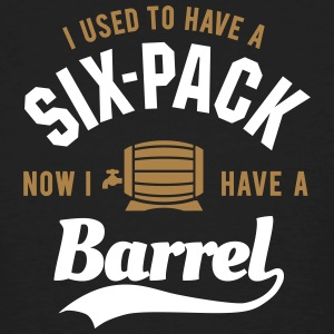I used to have a six-pack now I have a barrel T-shirts - Mannen Bio-T-shirt