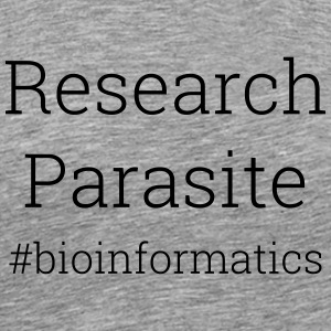 Research Parasite T-shirt - Men's Premium T-Shirt
