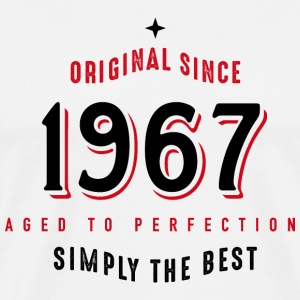 original since 1967 simply the best 50. Geburtstag T-Shirts - Männer Premium T-Shirt