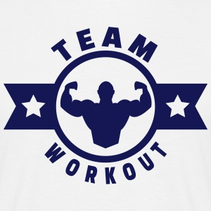 Team workout Tee shirts - T-shirt Homme