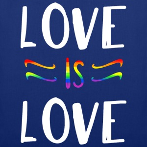 LOVE IS LOVE Tasche - Stoffbeutel