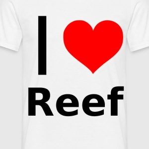 I love reef - T-shirt Homme