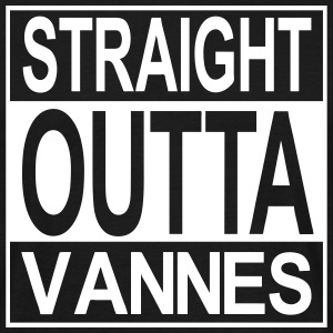 Straight outta Vannes - T-shirt Homme