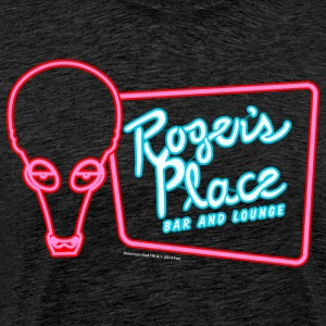 American Dad Roger's Place Bar Sign - Premium-T-shirt herr