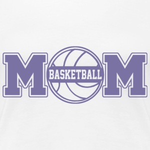 Basketball Mom T-Shirts - Frauen Premium T-Shirt